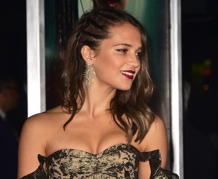 Alicia Vikander's Lara Croft body shamed by Twitter troll