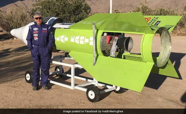 Amateur Rocket-Maker Finally Launches Himself Off Earth - Now To Prove It's Flat