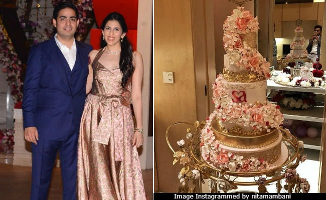 Akash Ambani And Shloka Mehta's Guests Enjoyed This Cake And These Performances