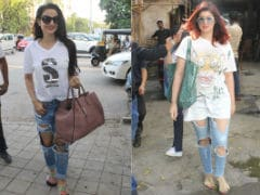 Twinkle Khanna And Ameesha Patel, Time To Retire Those Jeans Please
