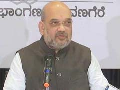 "Amit Shah Highlights Farmers' Woes, ""Rs 40-Lakh Watch"" Of Siddaramaiah"