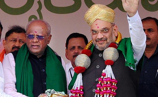 Karnataka polls: Amit Shah to tour old Mysuru region from tomorrow