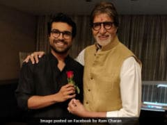 Amitabh Bachchan Celebrates Ram Charan's Birthday Before Filming Cameo In Chiranjeevi's Film