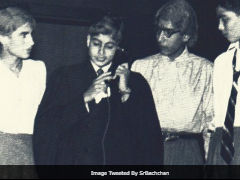 World Theatre Day 2018: Amitabh Bachchan Posts Pic From School Annual Play With The Story