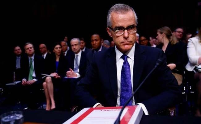 FBI Deputy Director Fired A Little More Than 24 Hours Before He Could Retire