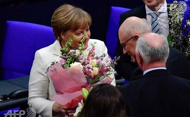 German Parliament Confirms Chancellor Angela Merkel For Fourth Term
