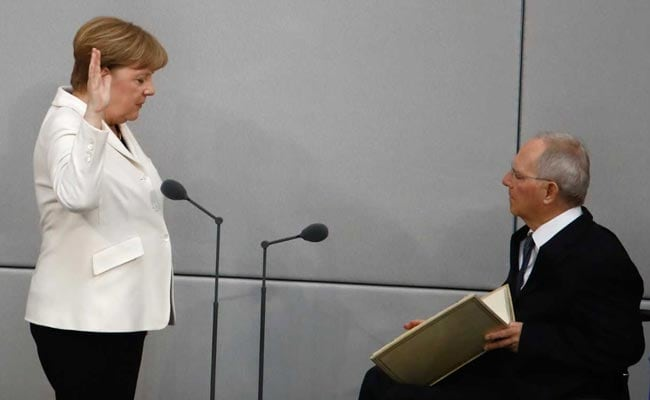 Angela Merkel Takes Oath Of Office For Fourth Term