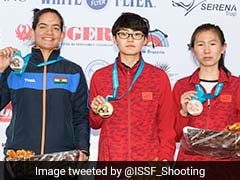 India's Anjum Moudgil Wins Silver At ISSF World Cup