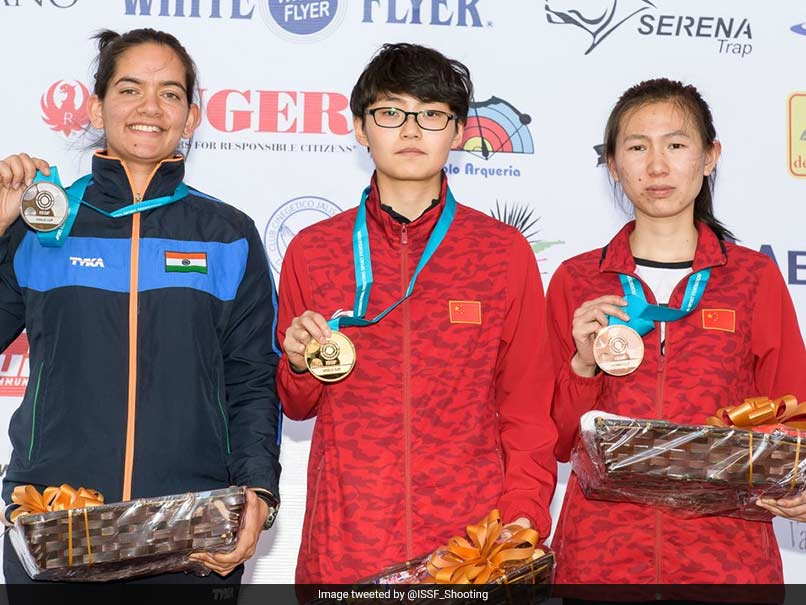 Indias Anjum Moudgil Wins Silver At ISSF World Cup