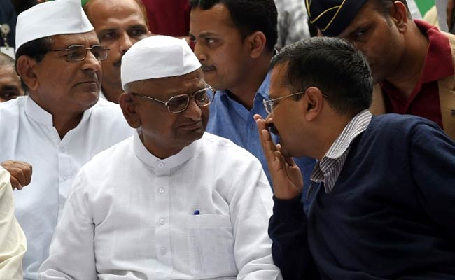 Anna Hazare Launches Indefinite Hunger Strike For Competent Lokpal And Farmers Rights