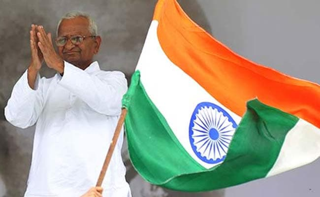 Anna Hazare begins indefinite hunger strike for Lokpal