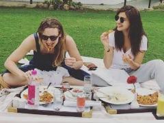 Anushka Sharma's 'Pizza On The Grass' Pic Is Setting Major Picnic Goals