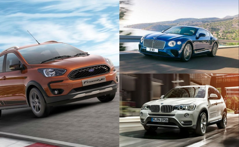 April 2018 has two luxury offerings and a mass market crossover lined up for launch
