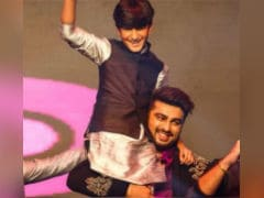 Seen This Pic Of Arjun Kapoor And Cousin Jahaan From Mohit Marwah's Wedding?
