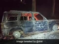 बिहार : आरा में 2 पत्रकारों की स्कार्पियो से कुचलकर हत्या, गुस्साए लोगों ने लगाई आग
