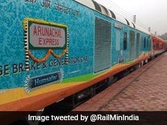 Arunachal Express Between Naharlagun-Anand Vihar Flagged Off