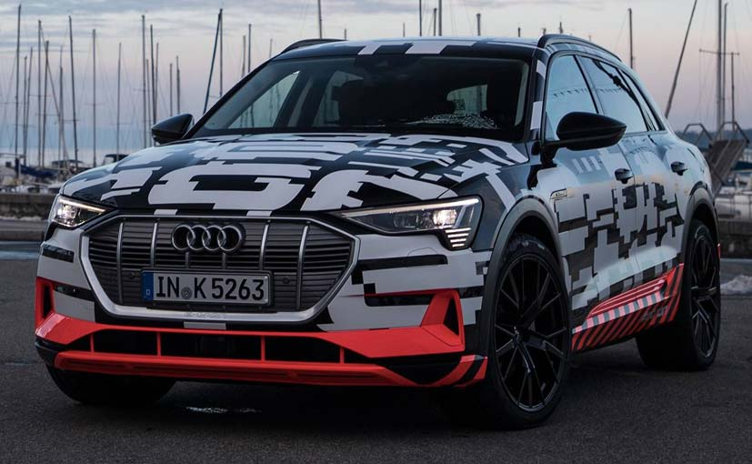The Audi e-tron will be launched in August 2018