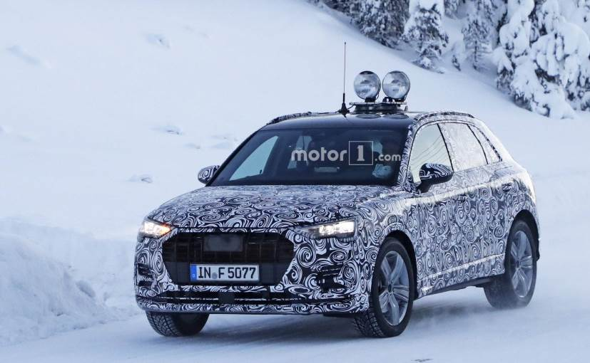Lower Spec Model Of Next Gen Audi Q3 Spotted Testing