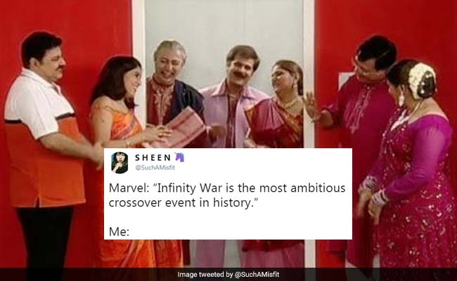 Avengers: Infinity War Not The Best Crossover, Says Twitter. These Desi Ones Are Better