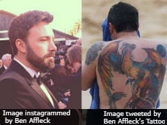 Ben Affleck Knows You Mocked His Giant Back Tattoo, But He's Doing 'Just Fine'