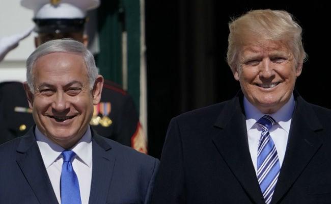 Donald Trump May Visit Israel For Embassy Move, Stands With Benjamin Netanyahu Against Iran