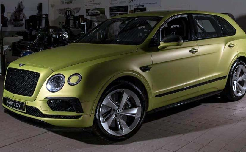 The Bentley Bentayga will be driven by two-time Pikes Peak overall winner Rhys Millen