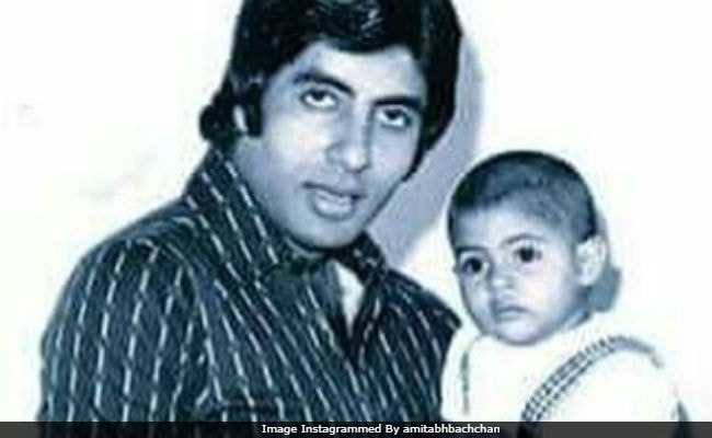 Amitabh Bachchan Posts Old Pic Of Daughter Shweta. 'Can I Have You Back Like This,' He Writes