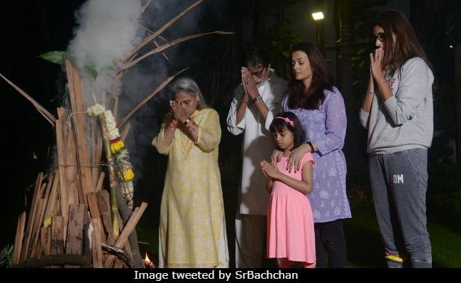 'Happy Holi, Everyone': Amitabh Bachchan, Priyanka Chopra And Others Post Wishes