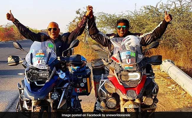 Mumbai Biker, Partner Complete 270-Day 'World Trip'