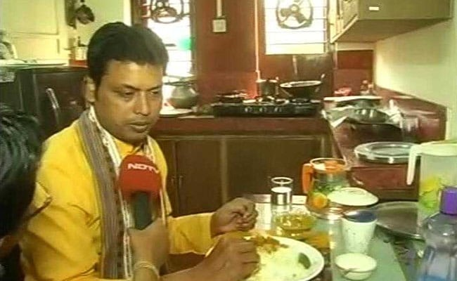 Biplab Deb takes oath as Tripura's chief minister
