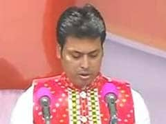 Biplab Deb Takes Oath As Tripura Chief Minister, PM Modi In Attendance: 10 Points