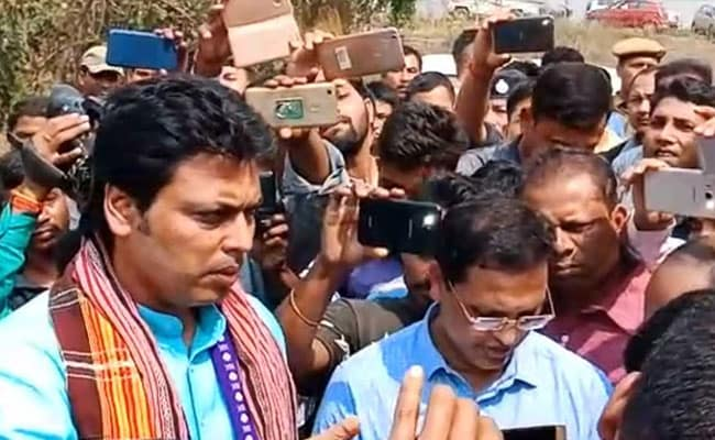 Tripura Chief Minister Visits Village, Suspends 3 Officials Caught Neglecting Duty