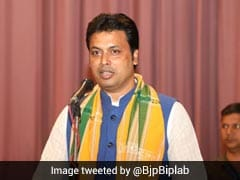 Tripura Swearing In LIVE: Biplab Kumar Deb Takes Oath As Chief Minister, PM Modi, Top BJP Leaders Present