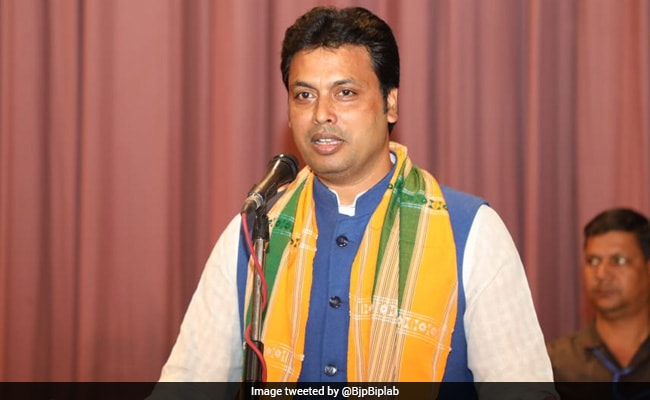 Biplab Deb, 48-Year-Old Leader Trained By RSS, To Be Tripura Chief Minister: Sources