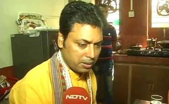 त्रिपुरा के भावी CM बिप्लब देब बोले-विरोधियों को साथ लेकर चलेंगे, पार्टी के नहीं सबके मुख्यमंत्री बनेंगे