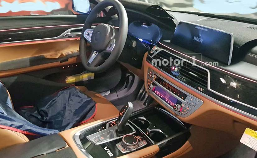 2019 Bmw 7 Series Facelift Interior Revealed In Latest Spy