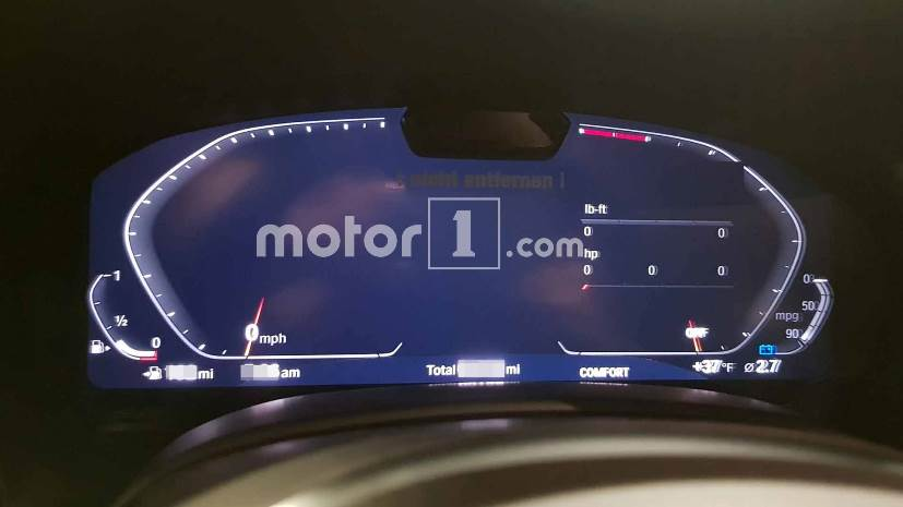 bmw 7 series facelift instrument cluster