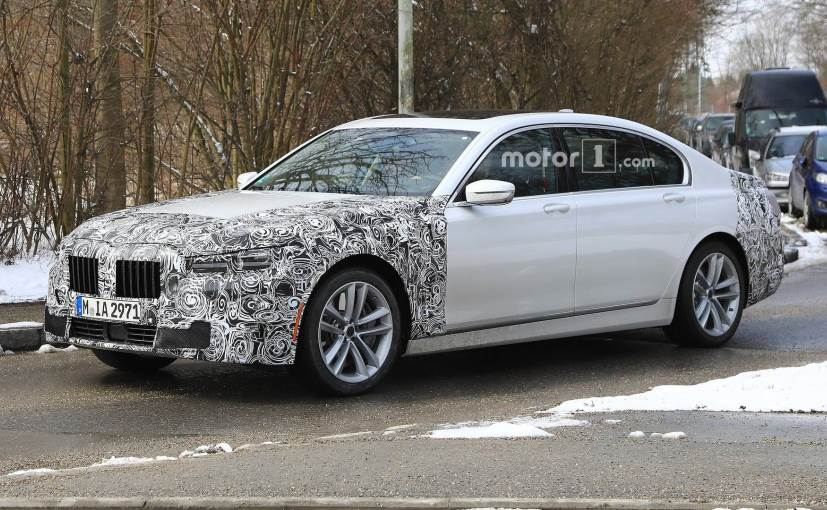 Bmw 7 Series Facelift Spotted Again Revealing New Updates Ndtv