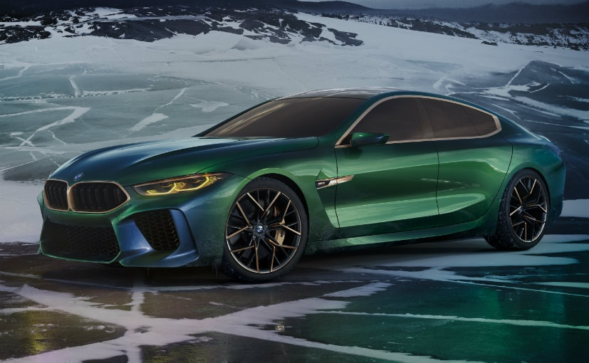 Geneva 2018 Bmw M8 Gran Coupe Concept Showcased Ndtv Carandbike