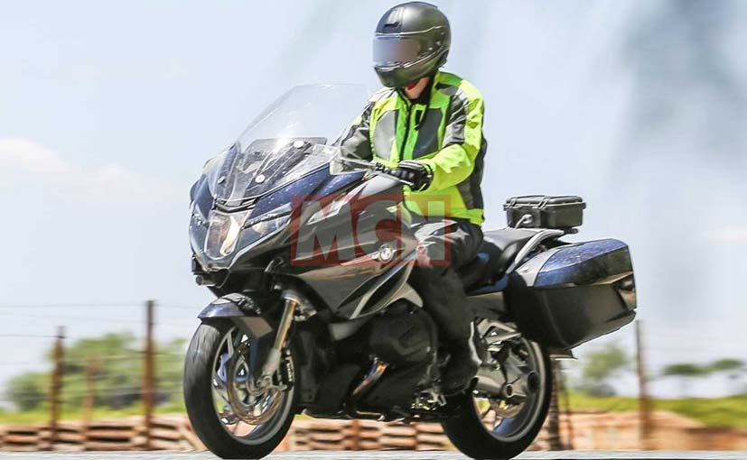 A new and updated variant of the BMW R 1200 RT has been spied testing in Europe