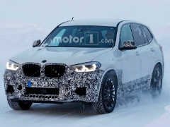 BMW X3 M Performance Compact SUV Spied