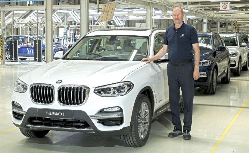 Bmw Starts Production Of New Generation X3 At Its Chennai Plant