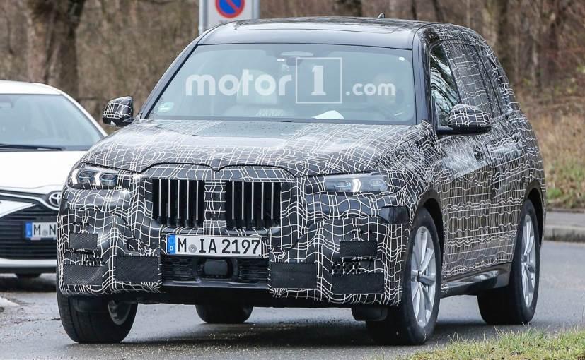 BMW X7 SUV is based on the company's CLAR modular platform