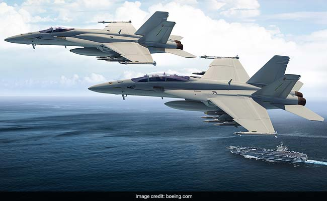 For 'Make In India' Super Hornet Jets, Boeing Ties Up With Mahindra, HAL