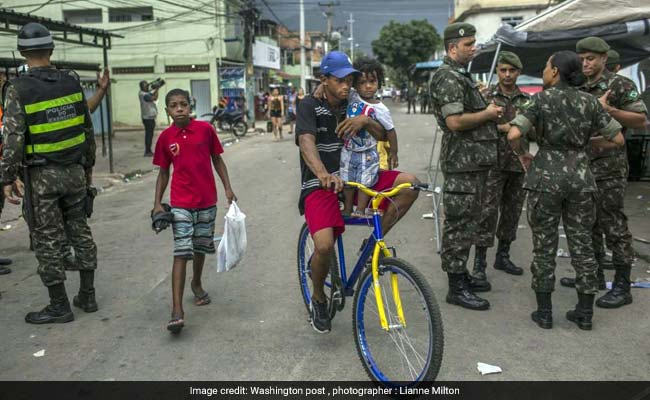Stop And Search? This Poor Community In Rio Says Yes, Please.