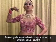 Bride's <i>Bindaas</i> Bhangra In <i>Choli</i> And Jeans Is Viral. Watch And Learn