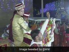 Rajasthan Bride, An IIT Graduate, Rides A Horse To Make A Point