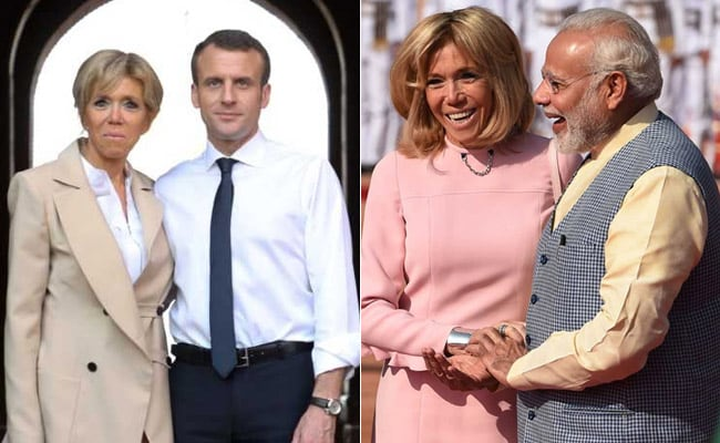 Brigitte Macron Brings A Bit Of French Chic To India
