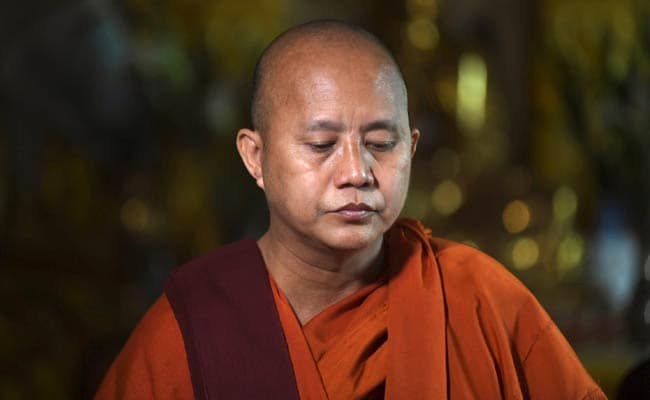 Myanmar Monk Returns To Preaching After Ban, Denies Fuelling Rakhine Violence