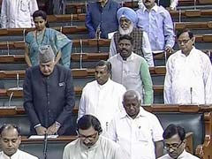 Parliament Proceedings Of The Week Washed Out Due To Protests